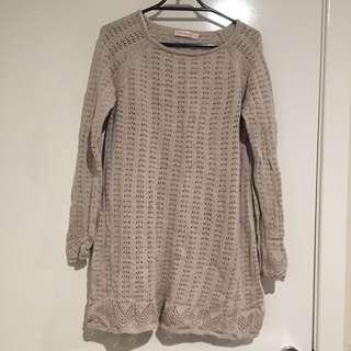 (pending) Light Brown Knit Top/Dress