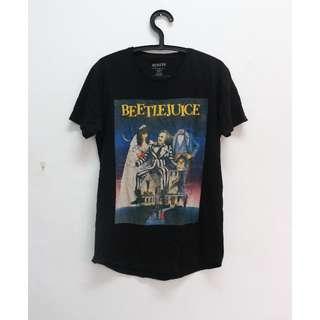 Beetlejuice 復古長版T恤