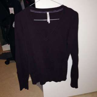 Dark Purple Pull Over