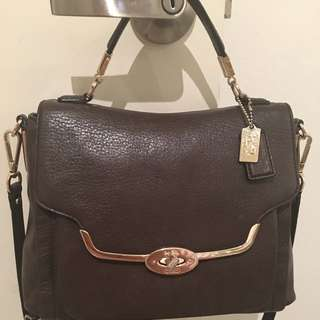 Coach Handbag, Pre Owned In Good Condition. Comes With Shoulder Strap And Dust Bag.