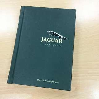 Jaguar/積架/捷豹😎80週年1922-2002紀念萬用筆記本 #jaguarcars