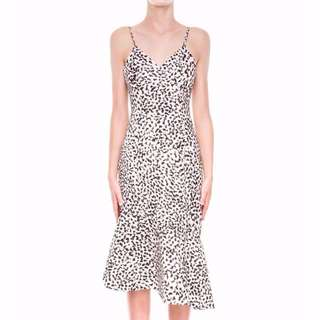 RENT: Keepsake Adorn Dress in Abstract Spot Light (Size XXS)