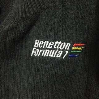 Benetton黑色毛衣