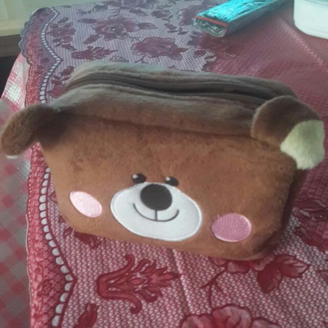 小熊收納包