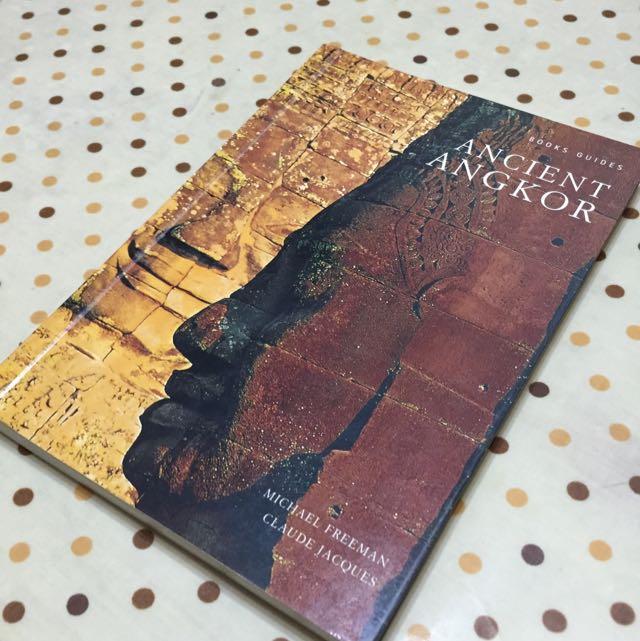 柬埔寨吳哥窟 導覽解說書