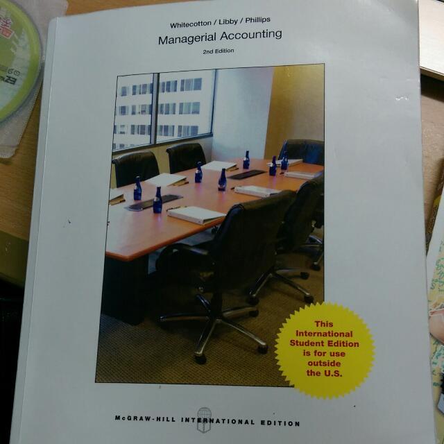 免運 管理會計 管會 2nd Managerial Accounting
