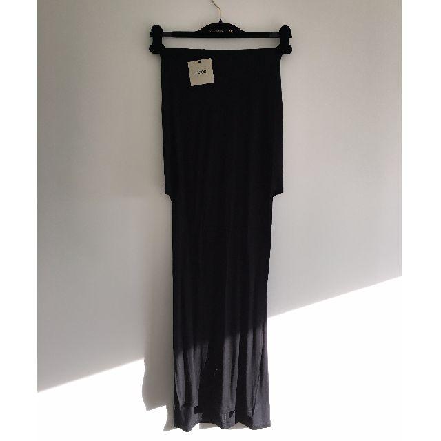 ASOS - Black Split Maxi Skirt