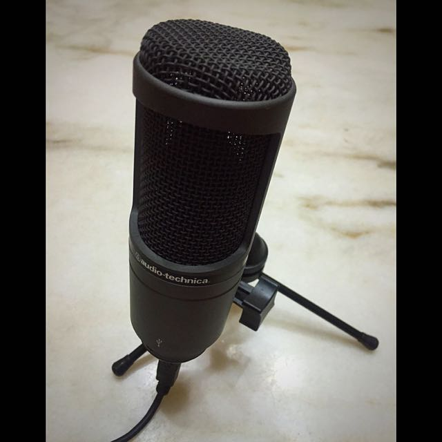 Audio Technica AT2020 USB Condenser Microphone