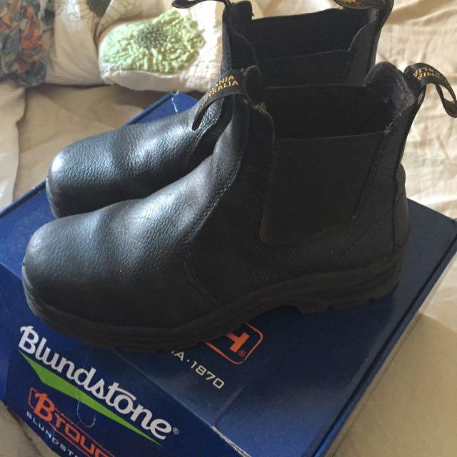Blundstone Steel Cap Boots