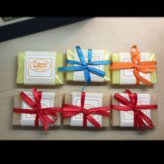 CATCH soap Boracay
