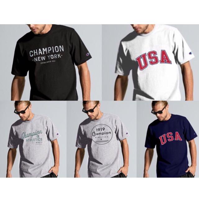 Champion短袖