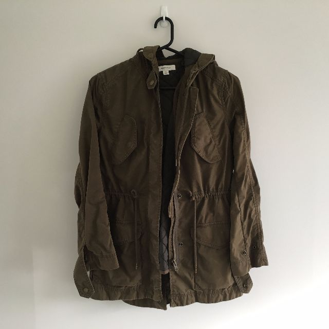 Country Road - Olive Green Parka