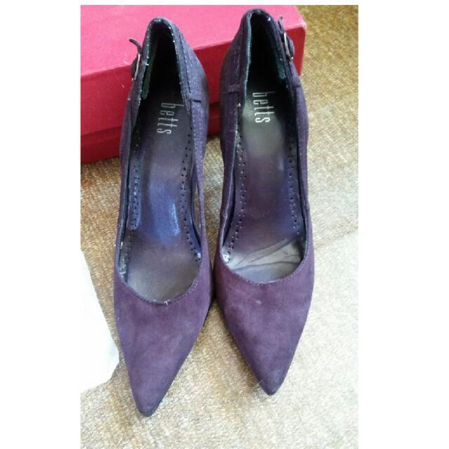 Dark Purple High Heel