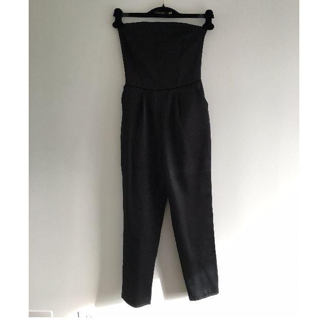 Editor's Market - Black Sleeveless Jumpsuit