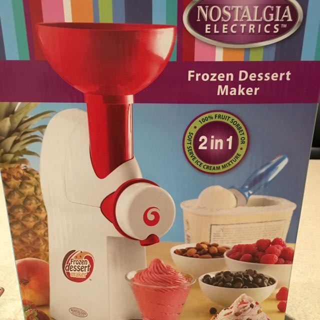 Frozen Dessert Maker