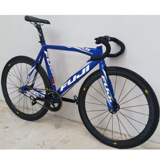 Fuji Track Pro 1.0 Full Bike // Frameset For Sale, Sports on Carousell