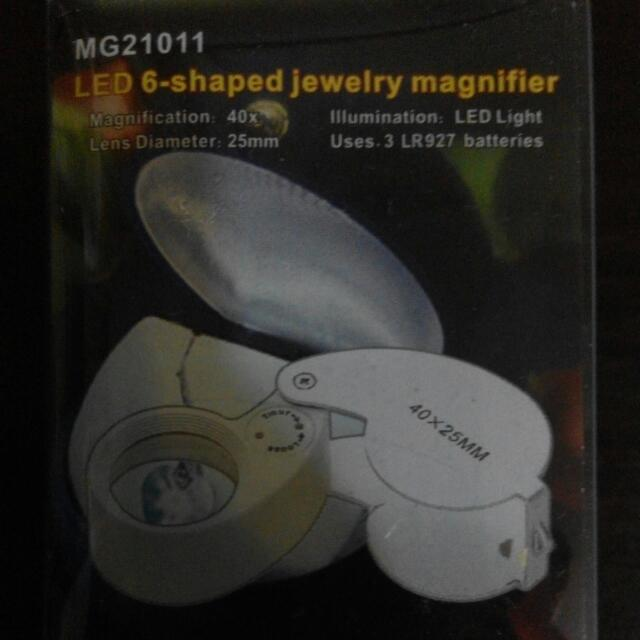 LED Jewellery Magnifier