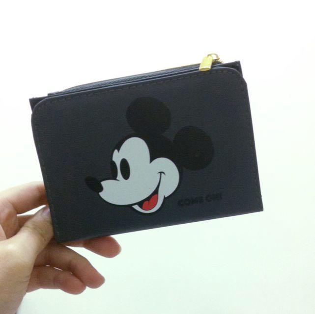 降價!🗞 Mickey 小零錢包(全新)