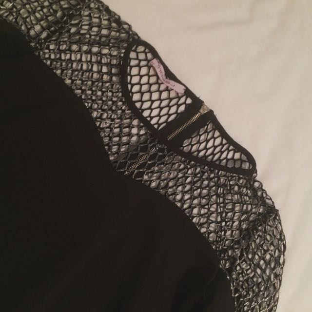 Caged Cropped Top