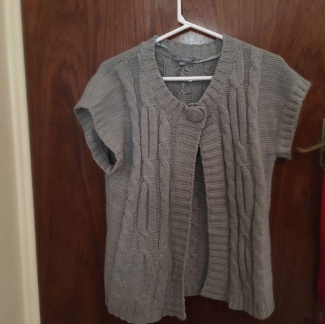 Short Sleeved Cardigan (Suzan)