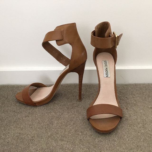 Steve Madden - Strappy Brown Heels