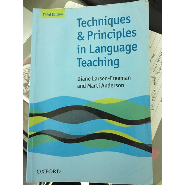 Techniques and Principles in Language Teaching 3/e
