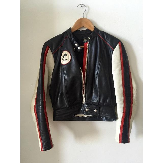 Vintage Furygan leather jacket