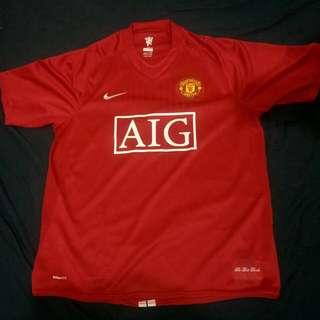 Manchester United Home Kit 2008/2009 Nike