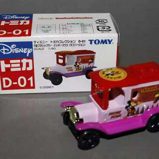 Tomica Disney Mickey Minnie Mouse