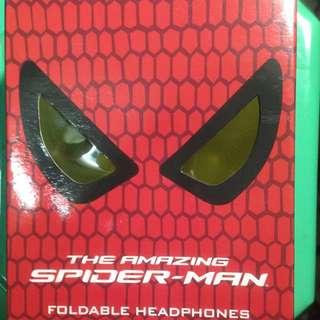 The Amazing Spider-Man蛛蜘人:驚奇再起的 全罩式耳機限量全新未使用,只有一個