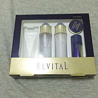 shiseido 莉微特五品保養組(不含洗面乳)