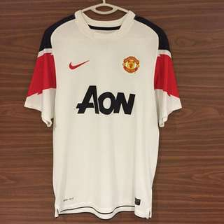 Manchester United Away 10/11 Shirt