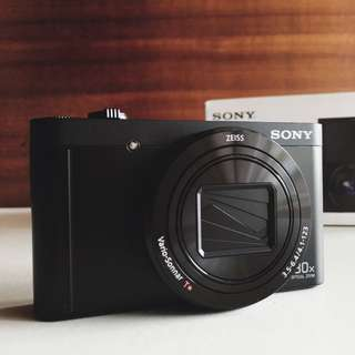 (RESERVED) Sony WX500 Compact Camera