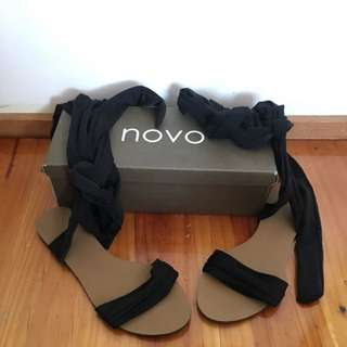 Brand New - Novo Tie Up Flats