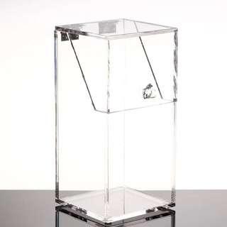 (預購)透明化妝刷具桶