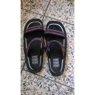 H!WAY 泰國幾何圖騰拖鞋 L