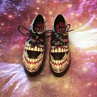 Iron Fist Shoes sugar Daddy Creeper Size 8