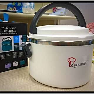 La Gourmet Lunch Box With Stainless Steel Interior - 1.0L
