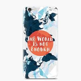 原創意世界地圖手機殼