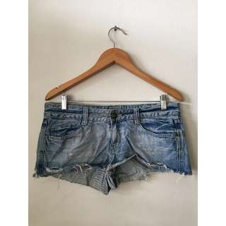 Just Jeans denim shorts in raw denim