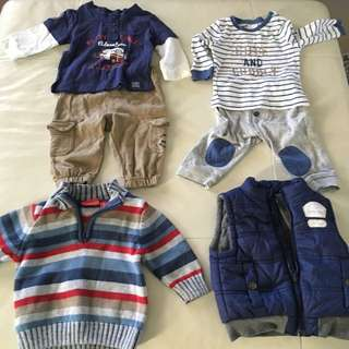 Boys Clothes Size 000 And 00