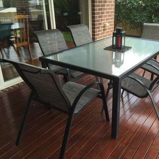 7 Piece Outdoor Dinning Set