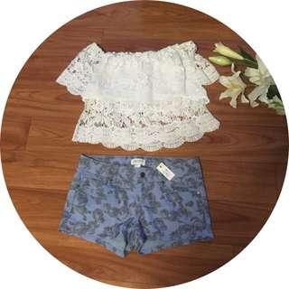 Forever 21 Shorts Floral
