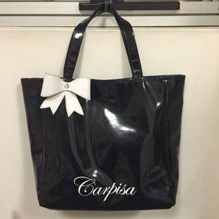 Carpisa Black Tote Bag