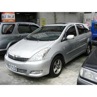 2005年 Toyota豐田【Wish威曲】E版 2.0L  售價27萬5~