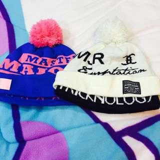 Major Made雙層毛帽