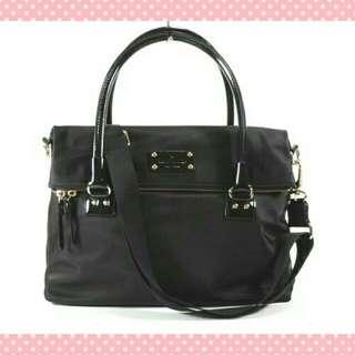 Kate Spade Nylon Carmen Shoulder Convertible Handbag