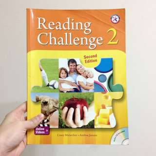 醒吾科技大學 五專部 應英系 原文課本 Reading Challenge 2 ( Casey Malarcher . Andrea Jansen )