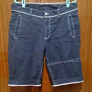 藍灰色短褲