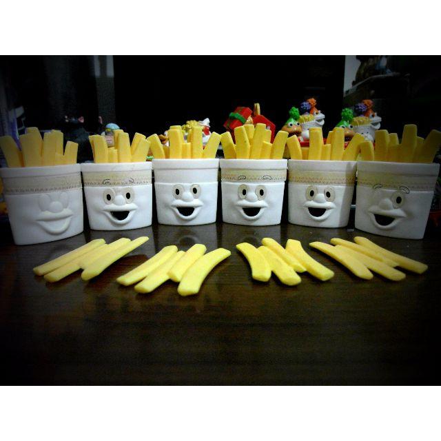1988年 超老物 麥當勞 薯條雞塊玩具